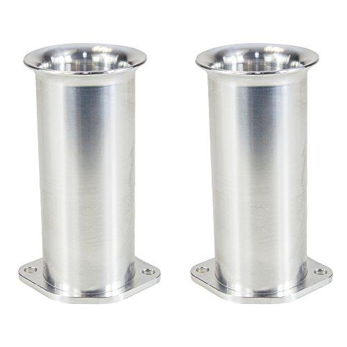Ramair Filters Bot-40-100-2PK Weber dcoe 40mm perno de velocidad pila de trompeta, 100mm, juego de 2