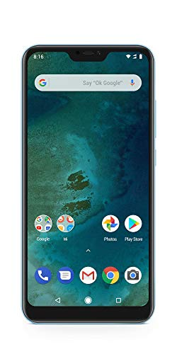 Xiaomi Mi A2 Lite - (Dual SIM) 32GB 5.84-Inch Android 8.1 UK Version Smartphone SIM gratuite - Bleu (Lancement officiel du Royaume-Uni)