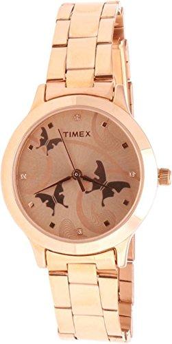 41XkpouqYDL - Timex TW000T610 Fashion Brown Women watch