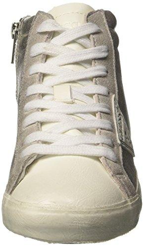 Guess Holly, Chaussures de Tennis femme Argent
