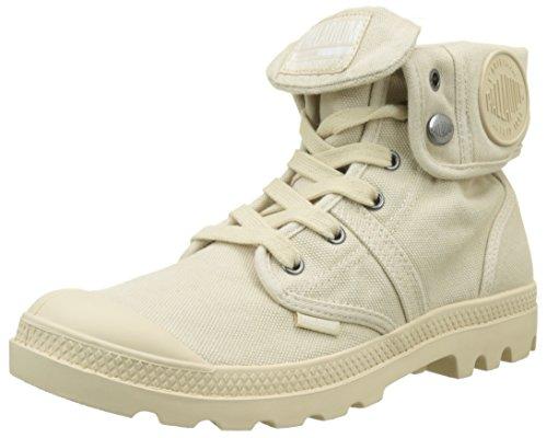 Palladium Damen Pallabrousse Baggy Hohe Sneaker, Beige (Sahara/Écru F90), 36 EU