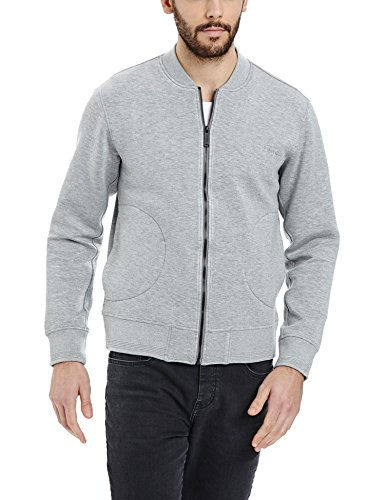 Bench Extinguish, Cardigan Uomo, Grau (Mid Grey Marl GY001X), Small