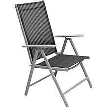 amazon.fr : chaise jardin aluminium textilene - Chaise De Jardin Pliante Aluminium