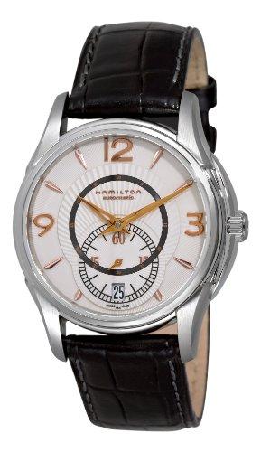 Hamilton-H32385755-Reloj-de-mujer-automtico-correa-de-piel-color-negro