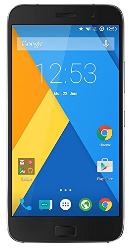 (CERTIFIED REFURBISHED) Lenovo ZUK Z1221 (Space Grey, 64GB)