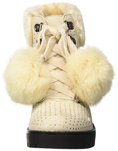 BATA 6998119, Stivali da Neve Donna Avorio (Giallo/Oro/Beige)