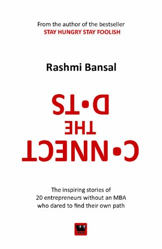 book cover connect the dots rashmi bansal