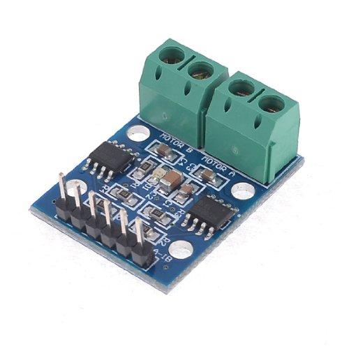 Sourcingmap - Hg7881 due canali bordo di driver del motore 2.5-12v blu verde