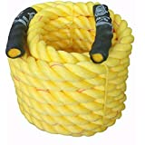 """Esskay Uttam Rope Gym Exercise Rope (1.25"""" Thick / 35 Feet (10 Mtrs) Exercise Rope) Fitness Workout Strength Training Battle Rope;Battle Rope(PRO)"""