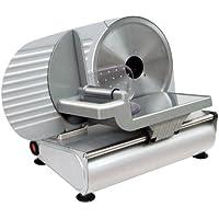 RGV AUSONIA 220 Eléctrico 130W Aluminio Plata rebanadora - Cortafiambres (Aluminio, Plata, 260 mm, 400 mm, 300 mm, 6,5 kg)