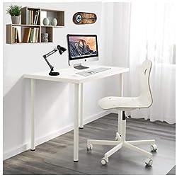 Mesa Escritorio Blanca, Sencilla y Muy Funcional