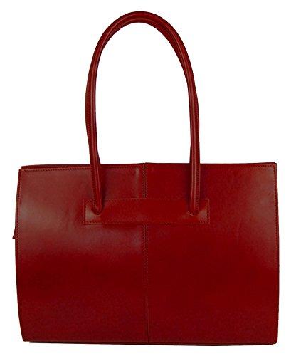 Bags4Less Carpe Sac Bandoulière / Sac pour ordinateur portable / Sac à main avec bandoulière Rouge