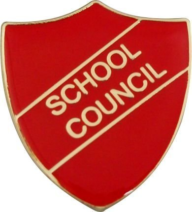 School Council Badge(RED) FREE Shipping