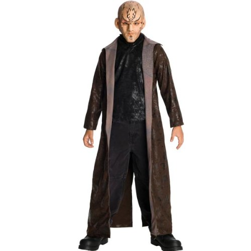Rubies Costume Co R883630-L Star Trek The Movie Kind Deluxe Nero Kost-m Gr--e ()