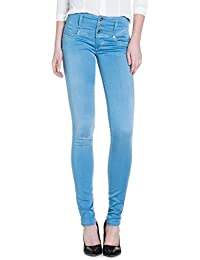 Salsa - Mystery Push Up jeans Soft Touch avec jambe skinny - Femme
