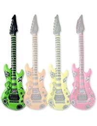 Aufblasbare Gitarre - 106cm - Vier verschiedene Farben