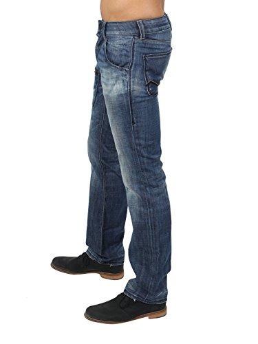ENERGIE Herren Jeans NEW JORDI in Blau Blau