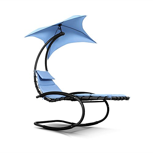 iKayaa-Swing-Hammock-Sun-Seat-Bed-Canopy-Hanging-Sun-Loungers-Outdoor-Patio-Rocking-Chair-Beige-Blue