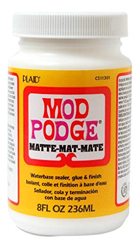 Mod Podge Serviettenkleber, matt 236 ml - Not Holz-finish