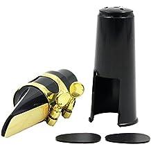 Accesorio Amortiguador Dientes Caña Alto Boquilla Saxo Saxofón Con Casquillo de Ligadura