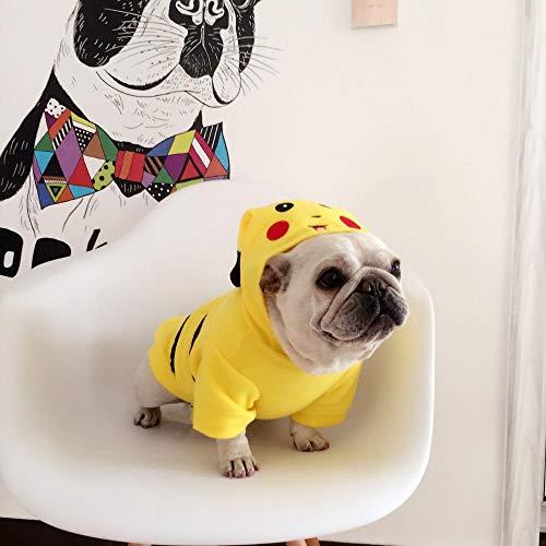Kostüm Einfache Cartoon Schnelle Und - L Pet supplies Law Fighting Teddy Bago Kleidung Cartoon Kostüm Pikachu Frühling Neue Angebote @ Pikachu Transfiguration_XL50x40 Wird Nicht zurückgegeben