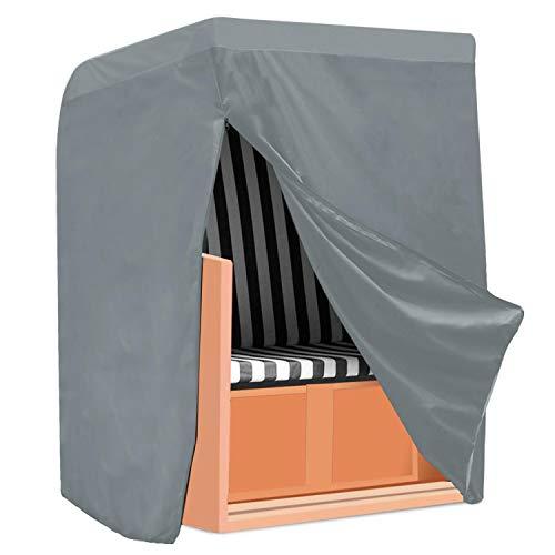 Yaheetech copertura telo impermeabile per mobili da giardino esterno sedie a sdraio impilabili armadio l 155 x 170 x 105 cm