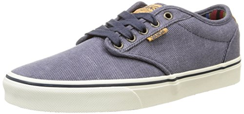 vans-atwood-deluxe-sneakers-basses-homme-bleu-washed-twill-navy-marshmallow-43-eu-9-uk
