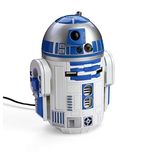 Star Wars - Cargador USB para coche, diseño de R2-D2