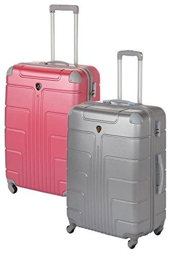 Hartschale Kofferset Wochenend-Set 2-teilig 2x Gr. M, je 56cm (Handgepäckgröße), je 42 Liter, viele verschiedene Farbkombinationen