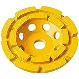 DEWALT DW4774 4-1/2-Inch Double-Row Diamond-Cup Grinding-Wheel