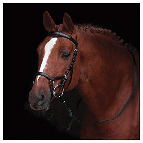 Horseware Rambo Micklem Competition Bridle black (Pony)