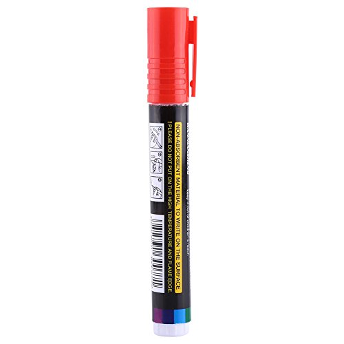 1 Stück Königin Bee Filzstift Hohe Qualität Kunststoff Markierwerkzeug Bee Keeping Werkzeuge Multi Farbe(Red)