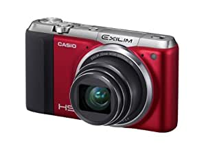 Casio Exilim EX-ZR700 Digitalkamera (16,1 Megapixel, 7,6 cm (3 Zoll) Display, 36-fach Multi SR Zoom, Triple Shot, HDR) rot