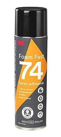 3M YP208061082 Sprühklebstoff für Schaumstoffe und Schnelle Verarbeitung, 500 mL Dose