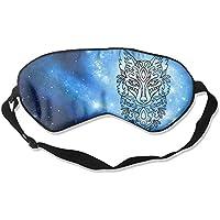 Line Art Fox 99% Eyeshade Blinders Sleeping Eye Patch Eye Mask Blindfold For Travel Insomnia Meditation preisvergleich bei billige-tabletten.eu