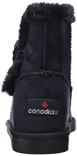 Canadians Damen 266 251 Schlupfstiefel Schwarz (Black)