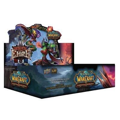 Preisvergleich Produktbild Upper Deck 11258 - World of Warcraft: Felder der Ehre Booster 24 Stück