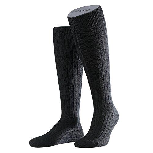 Falke Herren Strumpf Teppich im Schuh 3er Pack, Größe:43/44;Farbe:black