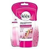 Veet In-shower Hair Removal Cream for Men & Women, Normal Skin - 150