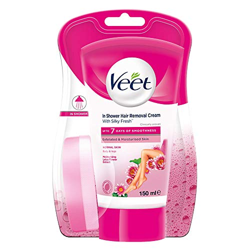 Veet In-shower Hair Removal Cream, Normal Skin - 150 ml