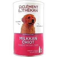 Clément Thékan Milkkan Chiot Lait Maternisé 400g de poudre + 1 biberon + 2 tétines