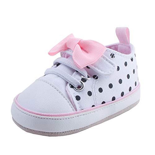 Canvas-calf Sneaker Boot (Unisex-Baby Canvas Sneaker,Alwayswin Jungen Mädchen rutschfest Kleinkindschuhe Sohle Weich Turnschuhe Mode Outdoor-Sportschuhe Bequem Klettverschluss Kinderschuhe Freizeitschuhe)