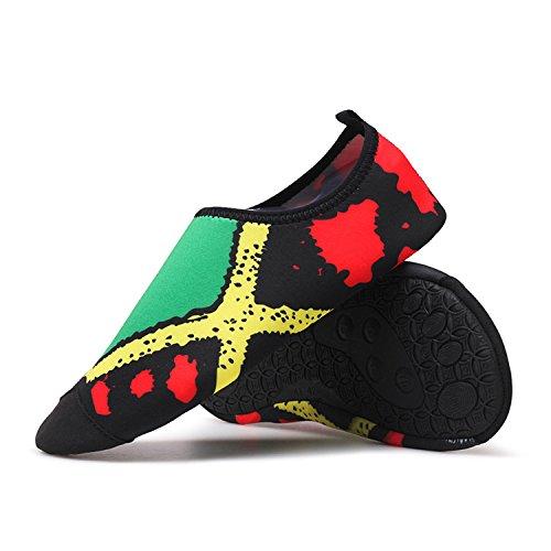 low priced b0f45 02ee9 Dewuseller Scarpe da Acqua Scarpe da Spiaggia gatura Rapid Scarpe Nuoto  Aqua Skin Water Shoes Adulti