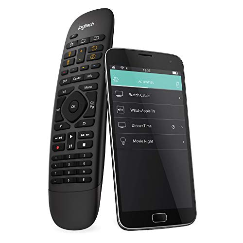 Logitech Harmony Companion All-in-one-Fernbedienung, schwarz
