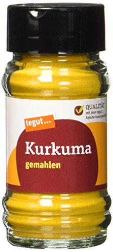 Preisvergleich Produktbild Tegut Kurkuma gemahlen Gewürz,  40 g