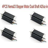 Nema23 - Motor paso a paso para máquina de grabado, fresado, impresora 3D, Nema23 23HS2430B (4 unidades)