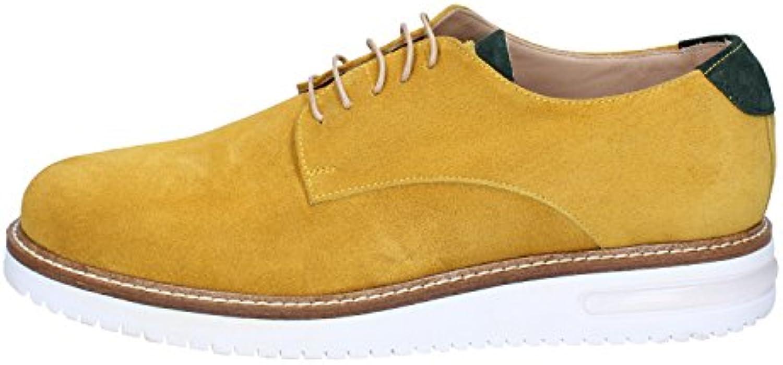 FDF scarpe Scarpe Scarpe Scarpe Classiche Uomo Pelle Scamosciata Giallo   Facile Da Pulire Surface  9702cb