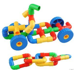 pericross-350g-jouet-de-construction-bricolage-assemblage-eau-tuyau-batiment-blocs-tuyau-avec-roue