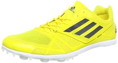 adidas Adizero Avanti 2, Chaussures de running adulte mixte - Jaune - Gelb (Vivid Yellow S13 / Black 1 / Black 1), 46 2/3 EU