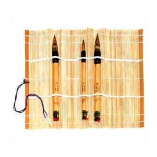 Pinselmatte, aus Bambus 28x28cm [Spielzeug]